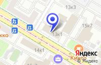 Схема проезда до компании ТФ БЕНДЖАМИН МУР ЭНД КО в Москве
