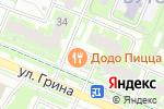 Схема проезда до компании Салон ткани и интерьера в Москве