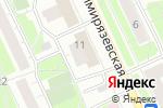Схема проезда до компании Копейка в Москве