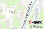 Схема проезда до компании Либхерр-Русланд в Москве