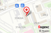 Схема проезда до компании Авантаж Го в Москве