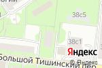 Схема проезда до компании Медработник в Москве