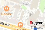 Схема проезда до компании Инженерная служба Пресненского района в Москве