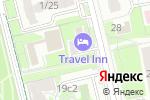 Схема проезда до компании От носа до хвоста в Москве