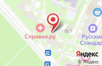 Схема проезда до компании Рилегата в Москве