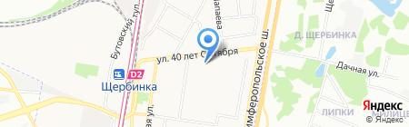 Средняя общеобразовательная школа №4 на карте Москвы