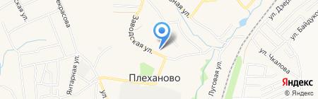 Плехановский культурно-досуговый центр на карте Хрущёво