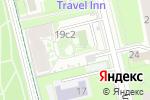 Схема проезда до компании На Ивановской в Москве
