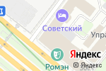 Схема проезда до компании Гамма Страхование в Москве