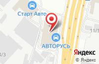 Схема проезда до компании Vam-shina в Щербинке