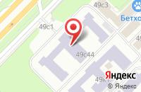 Схема проезда до компании Нанотех в Москве