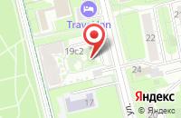 Схема проезда до компании Мартина в Москве
