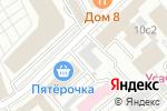 Схема проезда до компании ТРАНЗИТ-ПЛЮС в Москве