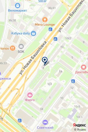 МЕБЕЛЬНЫЙ МАГАЗИН ОСКОЛ на карте Новой