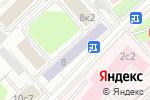 Схема проезда до компании Двери Оптом в Москве
