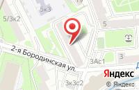 Схема проезда до компании Кругъ в Москве