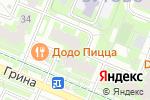 Схема проезда до компании Пивной Холл на Грина в Москве