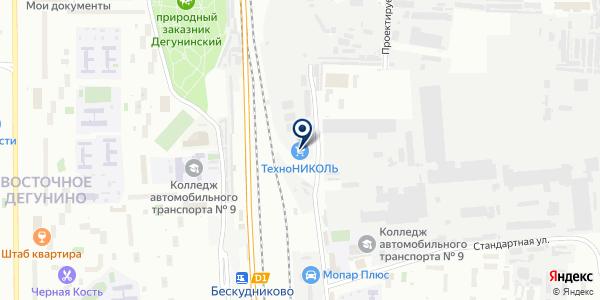 МосПрокат на карте Москве