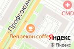 Схема проезда до компании Nota Bene в Москве