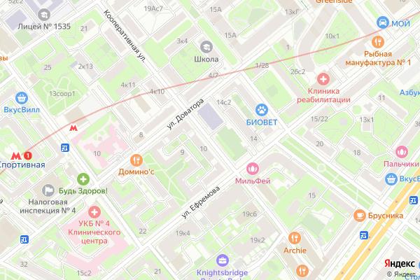 Ремонт телевизоров Улица Кооперативная на яндекс карте