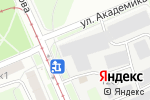 Схема проезда до компании Ампликом в Москве