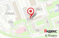 Схема проезда до компании НарциссРиэлтИнвест в Москве