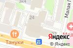Схема проезда до компании Международный центр развития инноваций в Москве