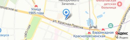 Профит Групп на карте Москвы