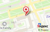 Схема проезда до компании Дизайнстройсервис в Москве