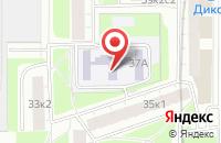 Схема проезда до компании Преподаватель в Москве