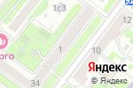 Схема проезда до компании Городская медицинская водительская комиссия в Москве