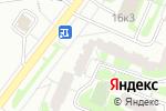 Схема проезда до компании Открытые двери в Москве
