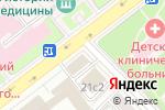 Схема проезда до компании Управление лесного хозяйства и природопользования Министерства обороны РФ в Москве