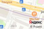 Схема проезда до компании Спартак в Москве