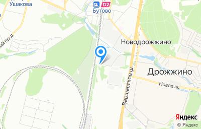 Местоположение на карте пункта техосмотра по адресу г Москва, проезд Проектируемый 185-й, влд 8 стр 14