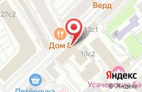 Схема проезда до компании Управление Безопасностью в Москве