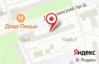 Схема проезда до компании Инжстроймаркет в Москве