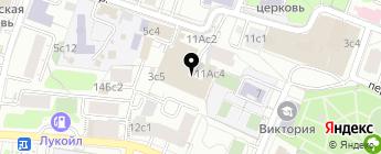 Брил Авто на карте Москвы