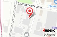 Схема проезда до компании ПРСУ в Подольске