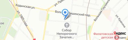 TranSearch на карте Москвы