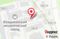 Схема проезда до компании Дмитрострой в Грибках
