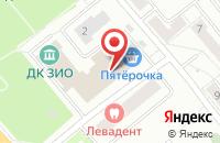 Схема проезда до компании Fusion bar в Подольске