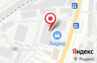 Схема проезда до компании Простор в Подольске