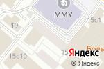 Схема проезда до компании Вива Музыка в Москве