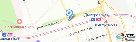 Весь Персонал на карте Москвы