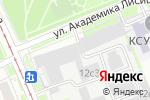 Схема проезда до компании Файтек в Москве