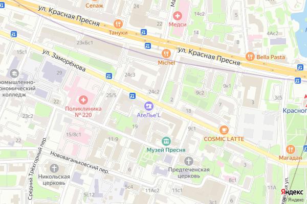Ремонт телевизоров Улица Заморенова на яндекс карте