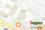 Схема проезда до компании Бизнес-М в Москве