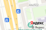 Схема проезда до компании Данечка в Москве