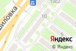 Схема проезда до компании Новые технологии строительства в Москве